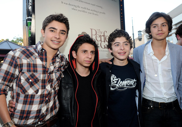 Moises Arias - Premiere Of