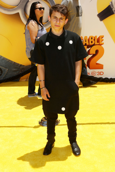 "Moises Arias Moises Arias attends the premiere of Universal Pictures' ""Despicable Me 2"" at the Gibson Amphitheatre on June 22, 2013 in Universal City, California."