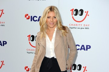 Mollie King Prince Harry ICAP Charity Trading Day In Aid Of Sentebale