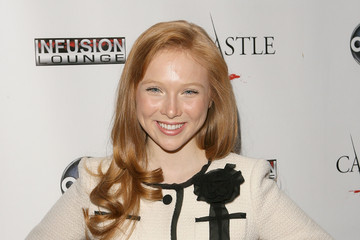 Molly C. Quinn ABC's Castle Season 3 Premiere Party