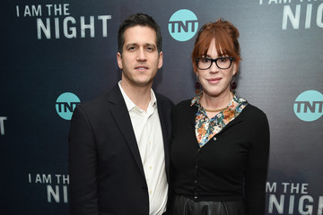 """Molly Ringwald Panio Gianopoulos """"I Am The Night"""" New York Premiere"""