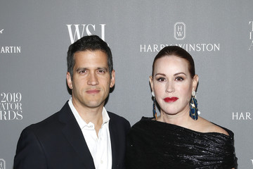 Molly Ringwald Panio Gianopoulos WSJ. Magazine 2019 Innovator Awards Sponsored By Harry Winston And Rémy Martin - Arrivals
