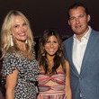 Molly Simms Hamptons Magazine 40th Anniversary Bash By Lawrence Scott Events Presented By Compass