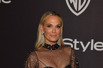 Molly Sims The 2019 InStyle And Warner Bros. 76th Annual Golden Globe Awards Post-Party - Red Carpet