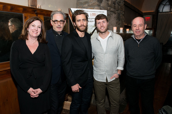 Jake Gyllenhaal and John Lesher Host Screening and Dinner Honoring 'Cartel Land' [cartel land,social group,event,house,jake gyllenhaal,matthew heineman,john lesher,molly thompson,tom yellin,dinner,l-r,john lesher host screening,dinner]