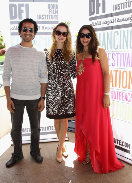 Mona Zaki and Ahmed Helmy Photos - DFI Egyptian Filmmakers Lunch ...
