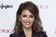 Actress Monica Cruz attends Majorica photocall at the Corte Ingles store on November 26, 2019 in Madrid, Spain.