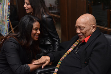 Monique Brown Haute Living Celebrates Quincy Jones With Rolls-Royce And LOUIS XIII