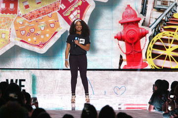 Monique Coleman Celebs Come Together at WE Day California to Celebrate Young People Changing the World