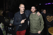"""Nigel Barker and Bryan Greenberg attend the Monkey 47 Gin Celebrates """"Shaken And Stirred"""" Podcast Launch With Nigel Barker And Tom Astor At The Wild Monkey on April 27, 2019 in New York City."""