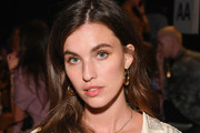 Rainey Qualley attends the Monse front row during New York Fashion Week: The Shows at SIR Stage 37 on September 7, 2018 in New York City.