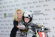 Alex McCord of Real Housewives of NYC attends the Monster Energy SuperCross World Championship Race at MetLife Stadium on April 26, 2014 in East Rutherford, New Jersey.
