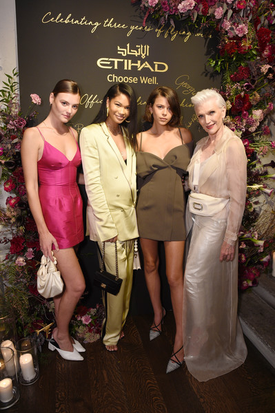 Etihad Airways Cocktail Party At NYFW: The Shows