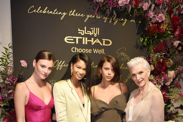 Montana Cox Etihad Airways Cocktail Party At NYFW: The Shows