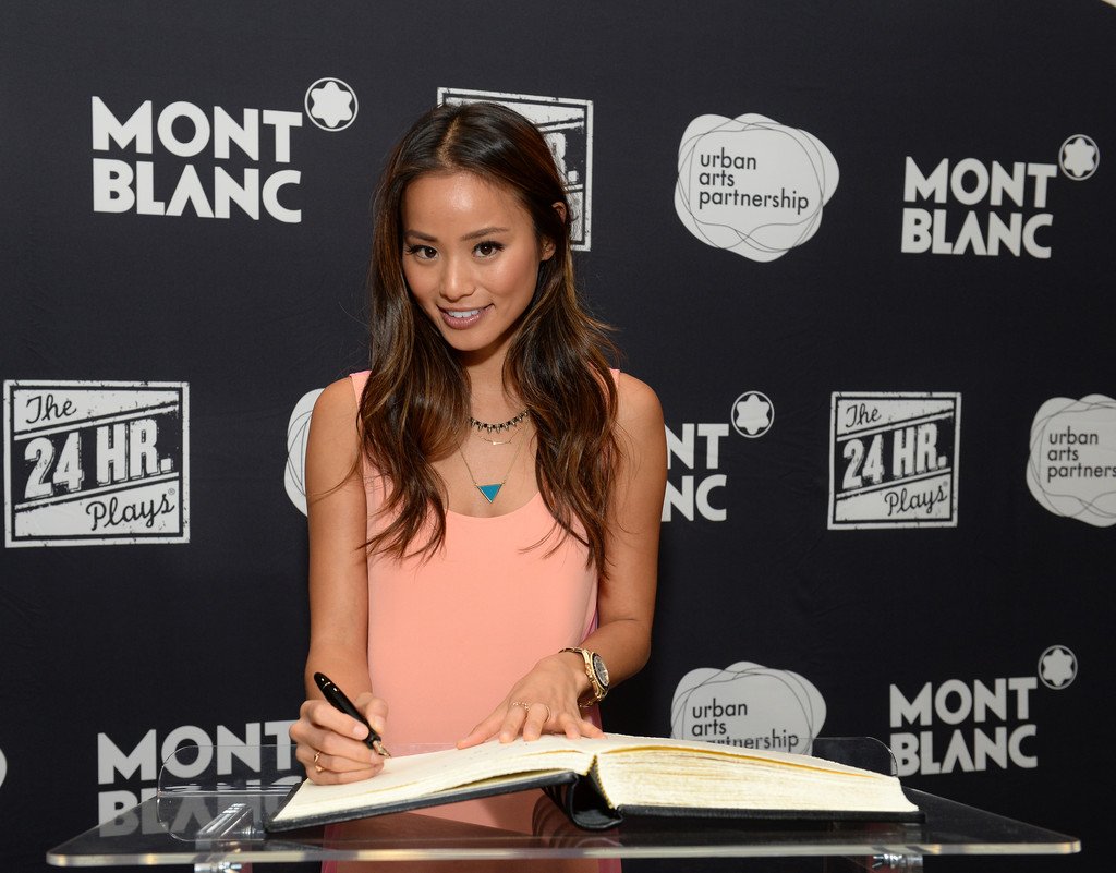Actress Jamie Chung attends the after party for the 3rd Annual 24 Hour Plays in Los Angeles presented by Montblanc held at The Shore Hotel on June 22, 2013 in Santa Monica, California.