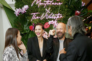 Maggie Gyllenhaal.and Peter Sarsgaard attend the Montblanc x The Webster Collaboration Launch Event at The Webster on November 05, 2019 in New York City.