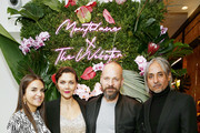 Webster Founder & Creative Director Laure Hériard Dubreuil, Maggie Gyllenhaal, Peter Sarsgaard, and Montblanc Creative Director Zaim Kamal attend the Montblanc x The Webster Collaboration Launch Event at The Webster on November 05, 2019 in New York City.