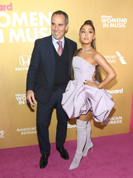 bad699178803 Monte Lipman Ariana Grande Photos - Billboard Women In Music 2018 ...