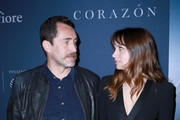 Actors Demian Bichir and Ana de Armas attend CORAZON,  presented by Montefiore on April 22, 2018 in New York City.