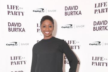 Montego Glover David Burtka Celebrates The Launch Of His New Cookbook 'Life Is A Party'
