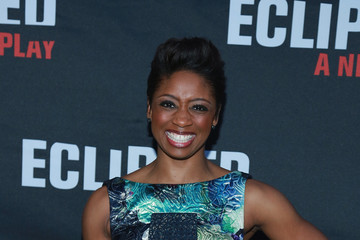 Montego Glover 'Eclipsed' Broadway Opening Night - Arrivals & Curtain Call