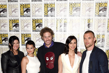 Morena Baccarin The 20th Century Fox Press Room at Comic-Con International 2015