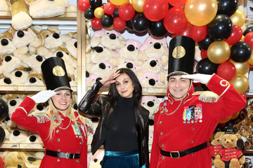 Morena Baccarin FAO Schwarz Grand Opening Event