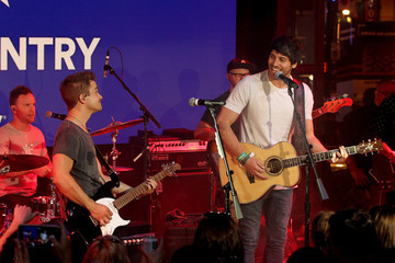 Morgan Evans Spotify's Hot Country Presents Hunter Hayes, Chris Lane, And Michael Ray At Ole Red During CMA Fest