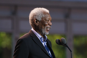 Morgan Freeman President Obama Delivers Remarks at the White House's International Jazz Day Concert