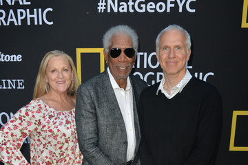 Morgan Freeman Lori McCreary National Geographic's Contenders Showcase