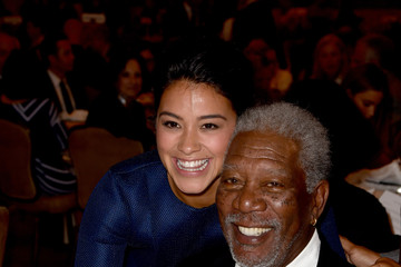 Morgan Freeman Hollywood Foreign Press Association's Grants Banquet — Part 2