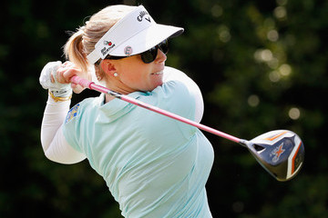 Morgan Pressel Volunteers Of America North Texas Shootout - Round One