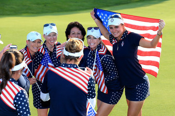 Morgan Pressel The Solheim Cup - Day Three