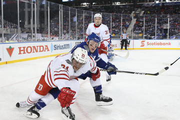 Morgan Rielly 2017 Scotiabank NHL Centennial Classic - Detroit Red Wings v Toronto Maple Leafs