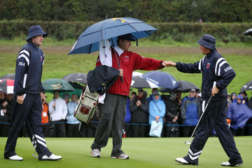 Eric Larson Morning Fourball Matches-2010 Ryder Cup