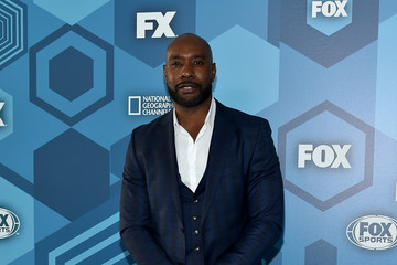 Morris Chestnut FOX 2016 Upfront - Red Carpet