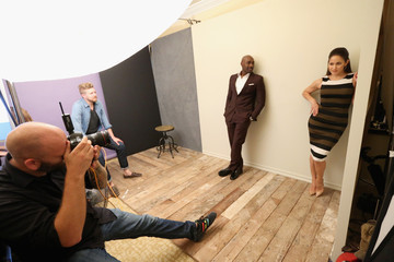 Morris Chestnut Behind The Scenes Of The Getty Images Portrait Studio Powered By Samsung Galaxy At 2015 Summer TCA's