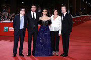 """Antonio Monda, Bobby Cannavale, Gugu Mbatha-Raw, Barbara Salabè, Edward Norton attend the """"Motherless Brooklyn"""" red carpet during the 14th Rome Film Festival on October 17, 2019 in Rome, Italy."""