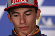 Marc Marquez of Spain and Repsol Honda Team during a press conference ahead of the 2018 MotoGP of Australia at Phillip Island Grand Prix Circuit on October 25, 2018 in Phillip Island, Australia.