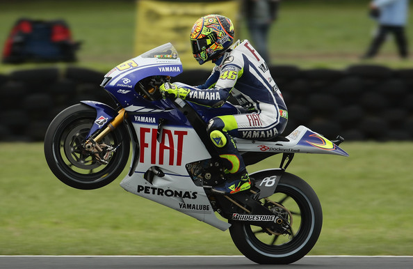 Valentino+Rossi in MotoGP of Australia - Race