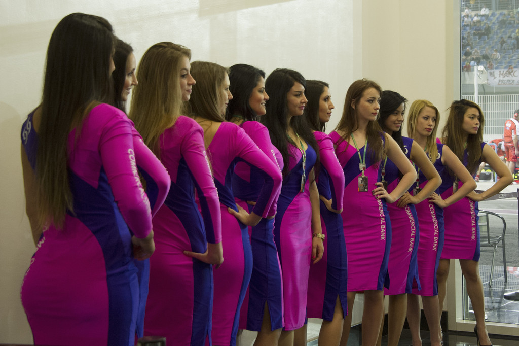 Grid Girls Photos Photos - MotoGp of Qatar - Zimbio