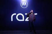 Motorola Unveils The razr As A Reinvented Icon In Los Angeles
