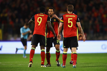 Moussa Dembele Belgium v Greece - FIFA 2018 World Cup Qualifier