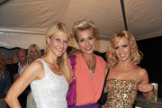 (L-R) Natascha Gruen, Verena Kerth and Isabel Edvardsson attend the Movie Meets Media party at P1 on June 27, 2011 in Munich, Germany.