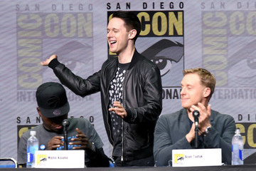 Mpho Koaho Comic-Con International 2017 - 'Dirk Gently's Holistic Detective Agency' BBC America Official Panel