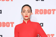 """Emmy Rossum attends the """"Mr. Robot"""" Season 4 Premiere on October 01, 2019 in New York City."""