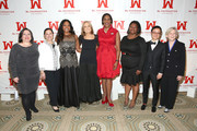 (L-R) Melissa Silverstein, Marcy Syms, Mary Ignatius, Gloria Steinem, Teresa C. Younger, Clarissa Doutherd, Miriam Yeung and Marie C. Wilson attend Ms. Foundation For Women 2016 Gloria Awards Gala at The Pierre Hotel on April 27, 2016 in New York City.