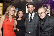 (L-R) Actor Shawn King, model Nicole Johnson, olympian swimmer Michael Phelps and TV personality Larry King attend Muhammad Ali's Celebrity Fight Night XXIII at the JW Marriott Desert Ridge Resort & Spa on March 18, 2017 in Phoenix, Arizona.