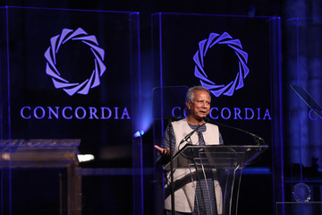 Muhammad Yunus The 2016 Concordia Summit Convenes World Leaders to Discuss the Power of Partnerships - Awards Dinner