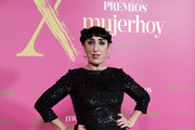 Actress Rossy de Palma attends 'MujerHoy' awards 2019 at Casino de Madrid on January 30, 2019 in Madrid, Spain.